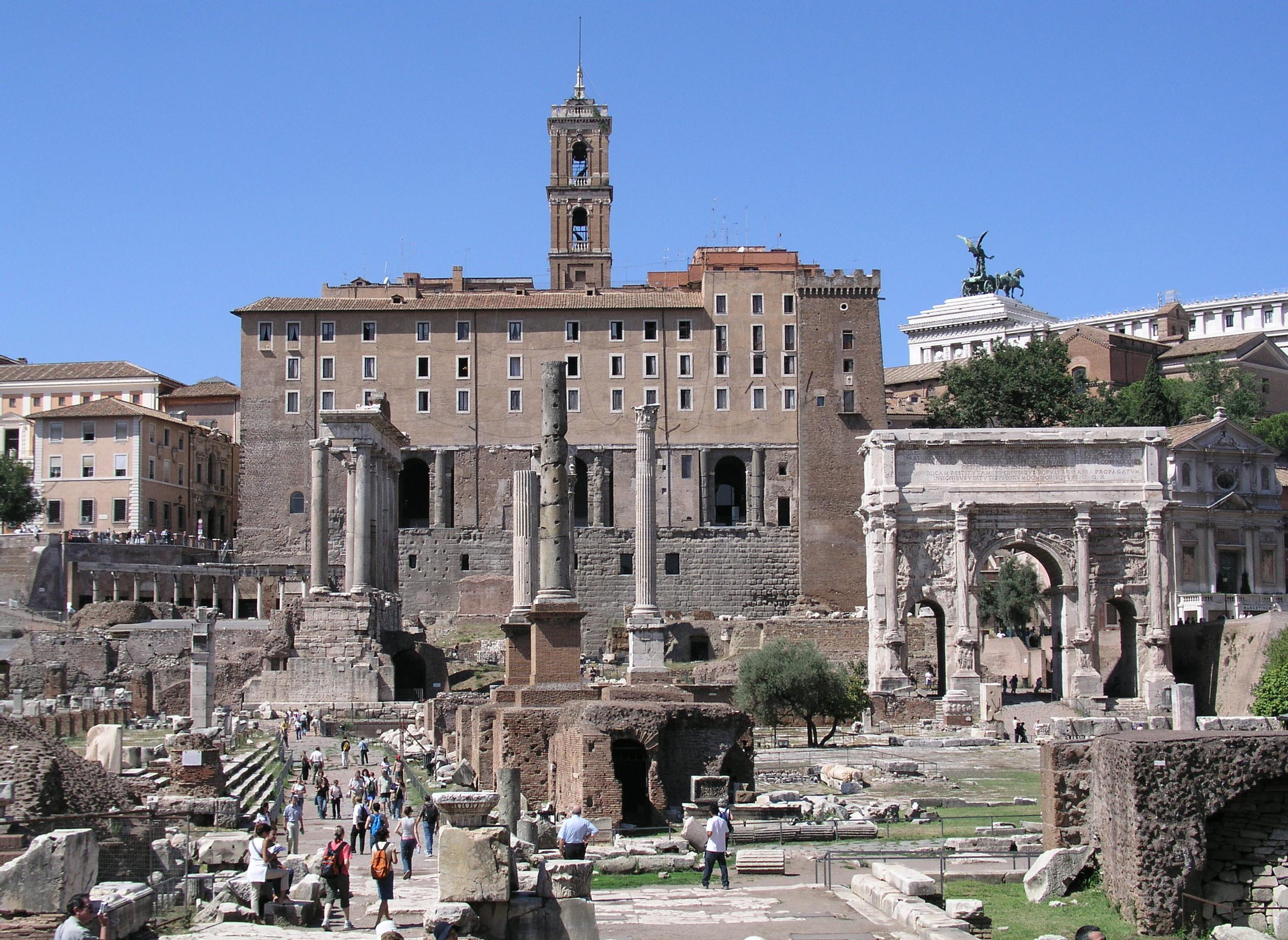 Digital Roman Forum Project of UCLA CVRL